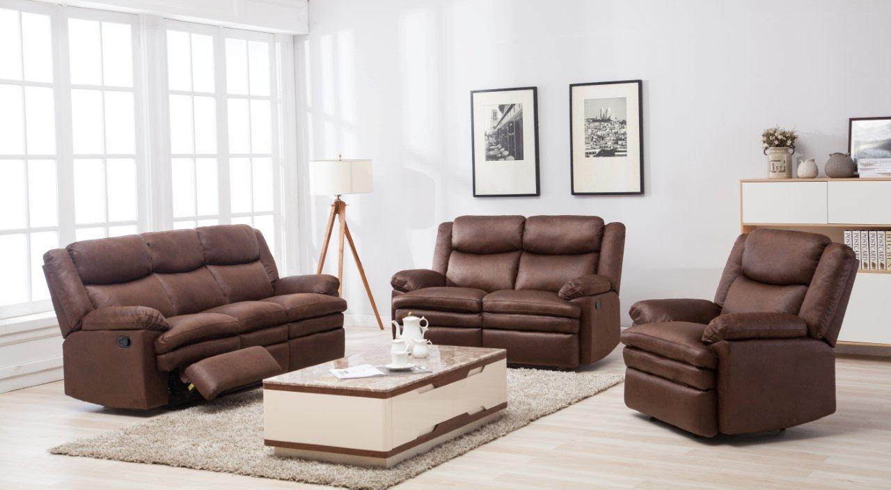 Quebec 6 Seater Recliner Sofa With Free Quito Tv Unit Victoria Courts
