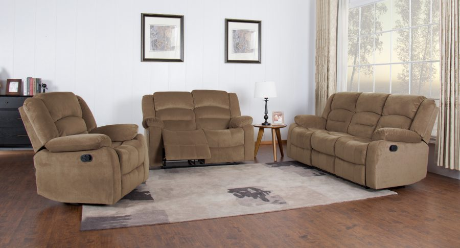 CAMELO- 6 SEATER RECLINER SOFA
