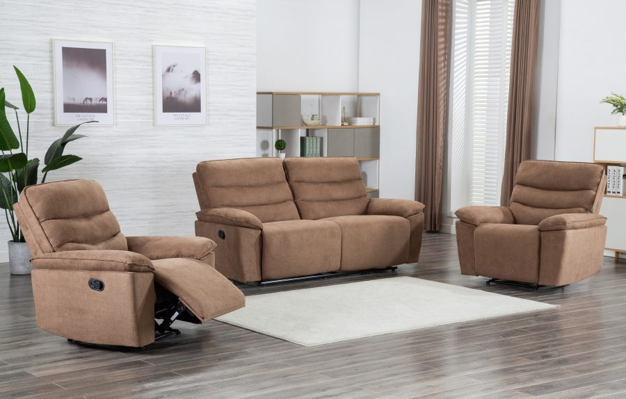 Sensational Fontana 5 Seater Recliner Sofa Dailytribune Chair Design For Home Dailytribuneorg