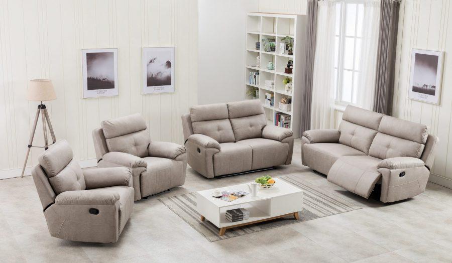 Novanna Recliner Sofa 6 Seater